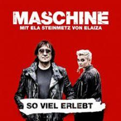 Cover MASCHINE - So viel erlebt - Ela Steinmetz